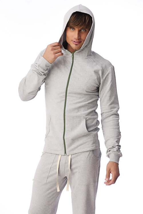 Men's Crossover Hoodie for Yoga & Fitness (Heather Gray)tx.jpg